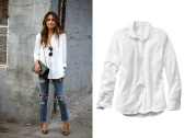 Boyfriends-White-Button-Down-Shirt